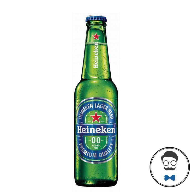 Heineken 0.0 Alcohol Free Beer (0% ABV)